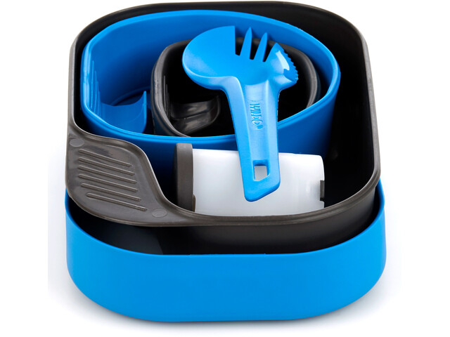 Wildo Camp-A-Box Set de Cena Completo, azul